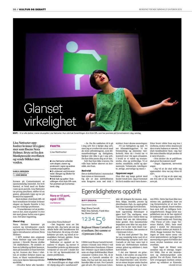 Bergens Tidende 27.10.13